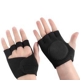 $enCountryForm.capitalKeyWord Australia - Half Finger Gloves Women's Fitness Fingerless Gloves Anti-slip Weight Lifting Gym Training Sports Bicycle Tactical Racing