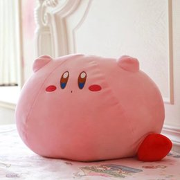 $enCountryForm.capitalKeyWord Australia - Hot Sale Custom Kirby Adventure All Star Collection Cartoon Kirby Stuffed Plush Pillow kids toys girl gifts