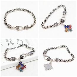 Boys puzzles online shopping - Autism Styles Chain Puzzle Jigsaw Hemp Flowers Rough Bracelet Colorful Popular Boys Girls Unisex Jewelry Party Favor yh E1