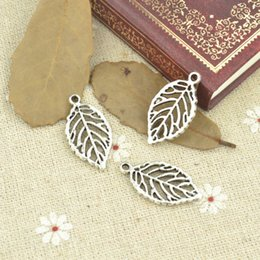 Fit Coin Pendant Australia - charms tibetan Wholesale 50pcs lot metal antique alloy charm tibetan silver tree leaf pendant fit jewelry making Z42719 free shipping