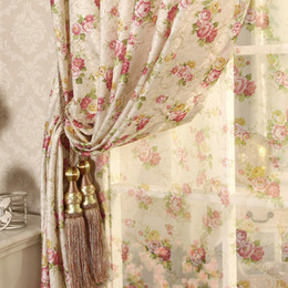 $enCountryForm.capitalKeyWord Australia - Cretonne Recommended New Flower Curtains Living Bedroom Korean Garden marriage room in Small Girl