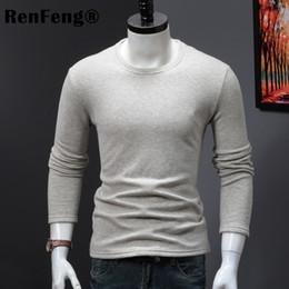 $enCountryForm.capitalKeyWord Australia - New Design plus velvet thickening Men's Winter Slim Fit Undershirt Male Long Sleeve Turtleneck Thermal Shirt Soild Pullovers Man