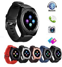 $enCountryForm.capitalKeyWord Australia - Z3 Bluetooth Smart watch Wristband Android Smartwatch With Camera TF SIM Card Slot For IOS With Retail Package