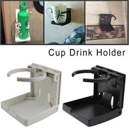 Car drink holders online shopping - New Adjustable Drink Folding Cup Bottle Coffee Stand Mount For Car Boat RV Marine Caravan Drinks Holder