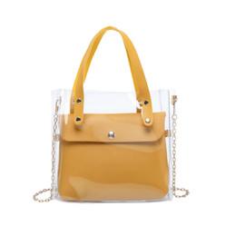$enCountryForm.capitalKeyWord Australia - Small leather handbags for Women 2019 transperent PVC hand bags Female mini shoulder Bag Black crossbody messenger Phone Pouch
