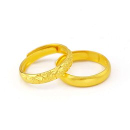 $enCountryForm.capitalKeyWord UK - Gold shop 1:1 men and women with the same paragraph printing 999 classic starry ring sand ring