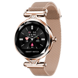$enCountryForm.capitalKeyWord Australia - 2019 Ogeda H1s Women Fashion Smartwatch Wearable Device Bluetooth Pedometer Heart Rate Monitor For Android ios Smart Bracelet Y19051503