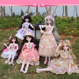 "$enCountryForm.capitalKeyWord Australia - 24"" 60cm Lifelike Fashion Girl Dolls Large Original Handmade Doll Girls Toys for Children Kids Gift Wedding Dress"