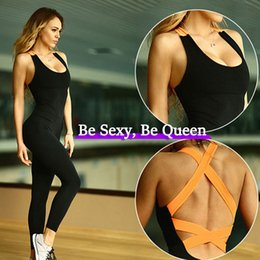 $enCountryForm.capitalKeyWord Australia - 2019 Backless Bandage Yoga Jumpsuit Fitness Sport wear for women Bodysuit Sportswear Gym clothing Running Sport suit Yoga Set