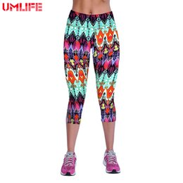 $enCountryForm.capitalKeyWord NZ - UMLIFE Hot Sell Yoga Pants Women Plus Size High Waist Sports Leggings Fitness Jersey 3D Print Slim Yoga Pants Tights Sportswear