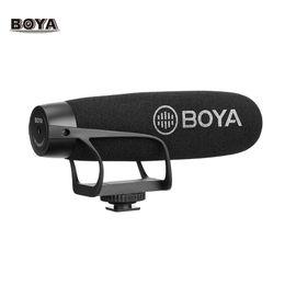 $enCountryForm.capitalKeyWord Australia - BOYA BY-BM2021 Lightweight Super Cardioid Video Shotgun Microphone for Smartphone DSLR Cameras Camcorders PC Audio Recording