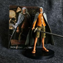 one piece anime toys UK - Exquisite Quality One Piece Pluto Rayleigh DX VOL 6 17.5cm Pvc Anime Action Figure Model Collection Toy Desktop Decoration Gift