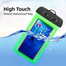 waterproof pocket bags for swimming Australia - Waterproof Phone Bags For Swimming Diving Rafting Surfing Lanyard Line Dirt-resistant Non-slip Durable Comfortable Lightweight For Phone