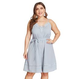 $enCountryForm.capitalKeyWord UK - 2019 Original Burst Design Large Code European and American Women's Fashion Comfortable Versatile Dress Simple Sling Pants