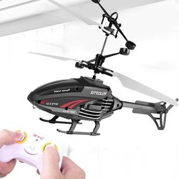 helicopter aircraft UK - 2.5 Channel Children's Remote Control Aircraft Toy Model Toy Infrared Induction Helicopter 2.4g Frequency Boy's Toy