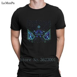 vision print Australia - Create New Style T Shirt Mens Piramid Vision Tee Shirt Homme Men's Tshirt Trendy T-Shirt For Men Cotton Simple Free Shipping