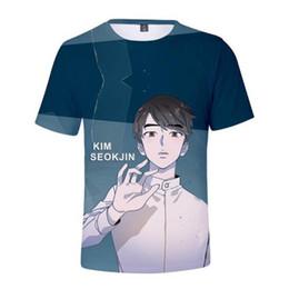 be13f3622b Bts T Shirt Print Australia - BTS Comic 3D Print Short Sleeve Tee Shirt  Love Yourself