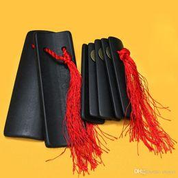 $enCountryForm.capitalKeyWord Australia - Musical Instrument Allegretto Christmas Gift Allegro Folk Instruments Black Bamboo Patter Chinese Traditional Opera Art 19.5*6.1 12.8*4.6cm