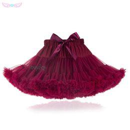 $enCountryForm.capitalKeyWord Australia - Full-size Fluffy Baby Teenage Girl Adualt Women Pettiskirt Tutu Women Tutu Party Dance Adult Skirt Performance Cloth Tulleskirt J190620