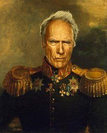 Russian Paintings Australia - Celebrities As Russian Generals,Home Decor HD Printed Modern Art Painting on Canvas (Unframed Framed)
