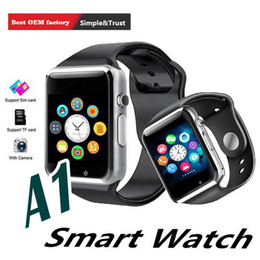 $enCountryForm.capitalKeyWord Australia - A1 WristWatch Bluetooth Smart Watch Sport Pedometer With SIM Camera Smartwatch for Android PK iwo 8 DZ09 watch men children women