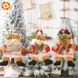 $enCountryForm.capitalKeyWord Australia - 1PC Merry Christmas Santa Claus&Snowman&Deer Wooden Letter Listing Christmas Party Xmas Tree Ornaments Kids Gifts Decorations
