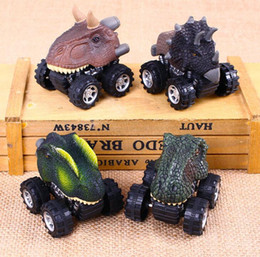 Pull Back Toys Australia - kids toys pull back New gift dinosaur toy model pull back mini toy car wholesale free shipping