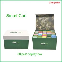 copper vape atomizer 2020 - Smartbud Smart Cart vape cartridges Magnetic packaging 0.8ml Vape Carts Cartridge Packaging Box 510 Ceramic Coil Copper