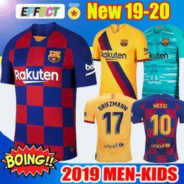 e0984411 ... 2020 Barcelona Soccer Jersey de fútbol Barcelona Camisetas de Fútbol 19  20 Barca Messi DE JONG GRIEZMANN Rakitic Fútbol Jersey kits Conjuntos  Uniforme