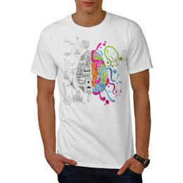 $enCountryForm.capitalKeyWord NZ - Wellcoda Imagination Tech Mens T-shirt, Mind Graphic Design Printed Tee