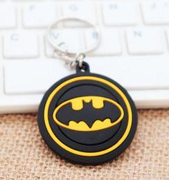 Batman Figure Wholesale Australia - Marvel key Batman key chain Avenger key plastic gift