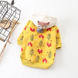 Wholesale Cute Pet Cat Dog Clothes Winter Pet Coat Warm Dog Hoodie Clothes For Small Dogs Pets Clothing Soft Pet Apparel French Bulldo