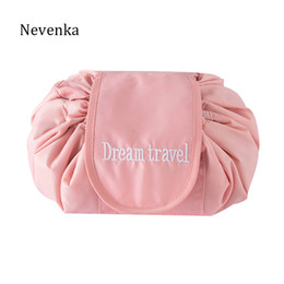 Nevenka Women Mini Cosmetic Bags High Quality Polyester Makeup Bags for  Travel Organizer Girls Toiletry Ladies Make Up bag ad56f52aef