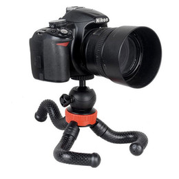 Küçük kısa bacak Mini Ahtapot Esnek Tripod, Cep Telefonu Kamera Tripod cep Telefonu Tripod iPhone DSLR Için dslr Kamera