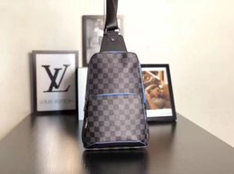 41f481cb7 Bags pixels online shopping - 5A L V0895 Avenue Man Chest Bag Damier  Graphite Pixel Travel