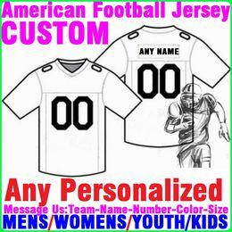 731ac5d0 Custom american football jerseys college stitched cheap USA ice Hockey  Baseball Basketball Soccer jersey 4xl Baby Youth Womens Mens Kids