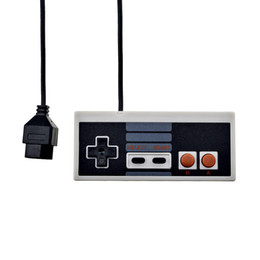 $enCountryForm.capitalKeyWord Australia - For NES Wired USB Controller Gamepad PC USB NES Computer Video Games Mando Handle Retro USB For NES Joystick Controle Free DHL