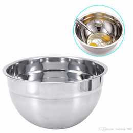 $enCountryForm.capitalKeyWord NZ - Thicker Stainless Steel Mixing Bowl For Fruit Vegetable Salad Maker Ice Cream Dessert Egg Mixer Bowl Kitchen Baking Accessories