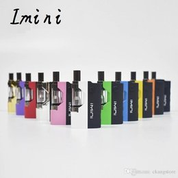 $enCountryForm.capitalKeyWord Australia - Original imini Vaporizer Kit MAX 15W 500mAh Box Mod Battery 510 Thread with Liberty V1 Tank Cartridges Atomizer vape pen kit