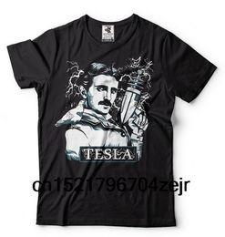 $enCountryForm.capitalKeyWord Australia - Men t shirt Nikola Tesla Tesla Graphic Fantastic Electric Gun Tee Shirt t-shirt novelty tshirt women