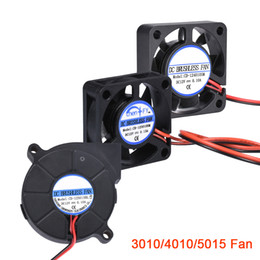 12 printer NZ - Computer & Office 3D Printer Parts 3010 4010 5015 Cooling 12 24 5 Blower Fan Turbo Brushless Fan For V5 V6
