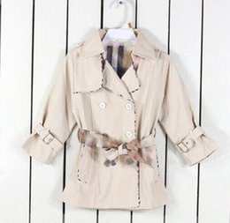 $enCountryForm.capitalKeyWord NZ - Newest baby Girls Trench Coat Fashion kids Outwear Wind Proof girl Jacket Cape child clothes Cloak coats free shipping
