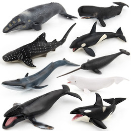 $enCountryForm.capitalKeyWord NZ - Whale Model Toy, 9 Solid Model Marine Animals, High Simulation, for Kid' Cognitive Teaching, Party Birthday Gift, Collecting,Home Decoration