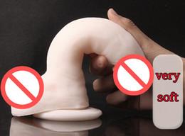 $enCountryForm.capitalKeyWord Australia - Latest Super Realistic Soft Dildos Suction Cup Female Masturbator Artificial Penis Big Dick For Women Adult Masturbation Erotic Sex Toy 116