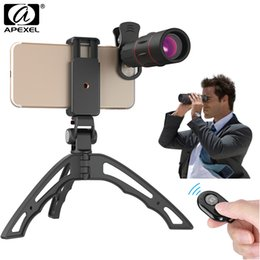 18x zoom camera Australia - Apexel Phone Camera Lens 18x Zoom Telescope Lens Monocular With Tripod Remote Shutter For Iphone X 7 8 Samsung S9 S8 Plus Xiaomi J190704