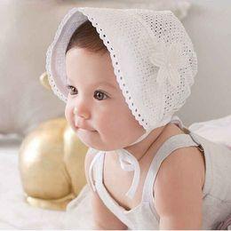 Toddlers Baby Girls Hat Caps Flower Princess Sun Cap Girl 5-24 Monthes  Summer Cotton Hat Bonnet Cute aa823b608cb4
