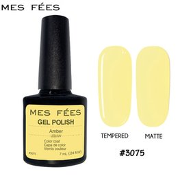 Best uv top coat online shopping - MES FESS Nail ml Tempered or Matte Top Coat Top Base Foundation for UV Gel Polish Best on Ali New Style Nails Lacquer Glue