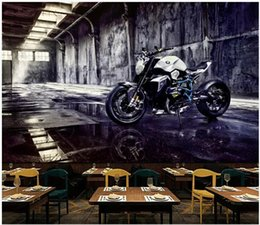 $enCountryForm.capitalKeyWord NZ - WDBH 3d wallpaper custom photo Nostalgic retro industrial wind motorcycle bar coffee shop home decor 3d wall murals wallpaper for walls 3 d