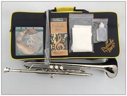 $enCountryForm.capitalKeyWord Australia - 2 pcs Vincent Bach Professional Bb Trumpet TR-600S Silver Plated Musical Instrument Professional Trumpet TR600S With Case Mouthpiece