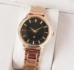 Small Clocks Watch UK - Luxury Women Simple Small Face Watches Full Stainless Steel Rose Gold Ladies Fashion Quartz Watch Dress Watch Clock Women drops hipping
